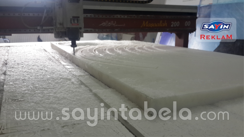 KESTAMİT CNC ROUTER KESİM 50 MM